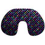 Polka Dot Sparkley Jewels 2 Travel Neck Pillows