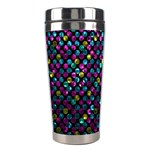 Polka Dot Sparkley Jewels 2 Stainless Steel Travel Tumblers