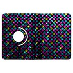 Polka Dot Sparkley Jewels 2 Kindle Fire HDX Flip 360 Case