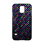 Polka Dot Sparkley Jewels 2 Samsung Galaxy S5 Hardshell Case