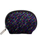 Polka Dot Sparkley Jewels 2 Accessory Pouches (Small)