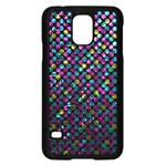 Polka Dot Sparkley Jewels 2 Samsung Galaxy S5 Case (Black)