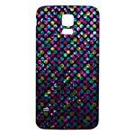 Polka Dot Sparkley Jewels 2 Samsung Galaxy S5 Back Case (White)