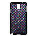 Polka Dot Sparkley Jewels 2 Samsung Galaxy Note 3 Neo Hardshell Case (Black)