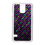 Polka Dot Sparkley Jewels 2 Samsung Galaxy S5 Case (White)