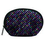 Polka Dot Sparkley Jewels 2 Accessory Pouches (Medium)