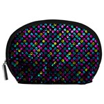 Polka Dot Sparkley Jewels 2 Accessory Pouches (Large)