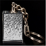 Polka Dot Sparkley Jewels 2 3D Engraving Key Chain
