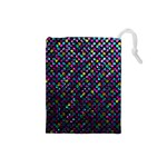 Polka Dot Sparkley Jewels 2 Drawstring Pouches (Small)