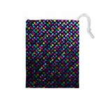 Polka Dot Sparkley Jewels 2 Drawstring Pouches (Medium)