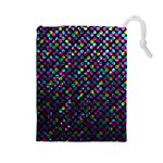 Polka Dot Sparkley Jewels 2 Drawstring Pouches (Large)