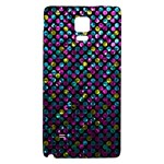 Polka Dot Sparkley Jewels 2 Galaxy Note 4 Back Case