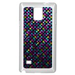 Polka Dot Sparkley Jewels 2 Samsung Galaxy Note 4 Case (White)