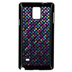 Polka Dot Sparkley Jewels 2 Samsung Galaxy Note 4 Case (Black)