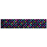 Polka Dot Sparkley Jewels 2 Flano Scarf (Small)