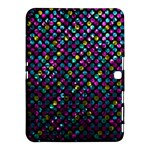 Polka Dot Sparkley Jewels 2 Samsung Galaxy Tab 4 (10.1 ) Hardshell Case