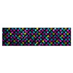 Polka Dot Sparkley Jewels 2 Satin Scarf (Oblong)