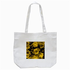 Phenomenal Blossoms Yellow Tote Bag (white)