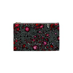 Sci Fi Fantasy Cosmos Red  Cosmetic Bag (small)  by ImpressiveMoments