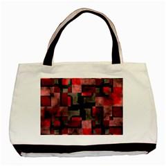 Textured Shapes Basic Tote Bag