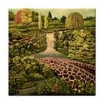 Nov 2015 Work in Progress 1 - by Ave Hurley - Tile Coaster