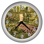 My Estate by Ave Hurley - Wall Clock (Silver)