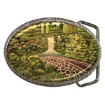 Country Waterfall by Ave Hurley - Belt Buckle