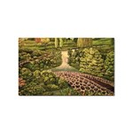 Country Waterfall by Ave Hurley - Sticker (Rectangular)