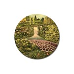 Country Waterfall by Ave Hurley - Magnet 3  (Round)