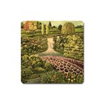 Country Waterfall by Ave Hurley - Magnet (Square)