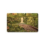 Country Waterfall by Ave Hurley - Magnet (Name Card)