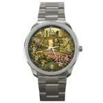 My Estate by Ave Hurley - Sport Metal Watch