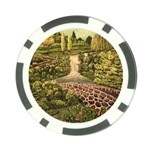 Country Waterfall by Ave Hurley - Poker Chip Card Guard