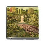 Country Waterfall by Ave Hurley - Memory Card Reader (Square)