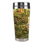 Country Waterfall by Ave Hurley - Stainless Steel Travel Tumbler