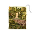 My Estate by Ave Hurley - Drawstring Pouch (Medium)