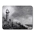 Frank Clark Lighthouse -AveHurley ArtRevu.com- Small Mousepad
