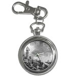 Frank Clark Lighthouse -AveHurley ArtRevu.com- Key Chain Watch