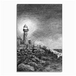 Frank Clark Lighthouse -AveHurley ArtRevu.com- Postcard 4 x 6  (Pkg of 10)