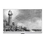 Frank Clark Lighthouse -AveHurley ArtRevu.com- Business Card Holder