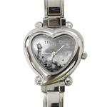 Frank Clark Lighthouse -AveHurley ArtRevu.com- Heart Italian Charm Watch