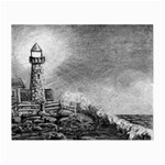 Frank Clark Lighthouse -AveHurley ArtRevu.com- Small Glasses Cloth
