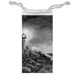 Frank Clark Lighthouse -AveHurley ArtRevu.com- Jewelry Bag