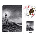 Frank Clark Lighthouse -AveHurley ArtRevu.com- Playing Cards Single Design