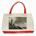 Frank Clark Lighthouse -AveHurley ArtRevu.com- Classic Tote Bag (Red)