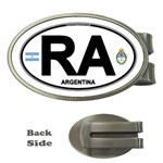RA - Argentina Euro Oval Money Clip (Oval)