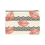 Kisses Cosmetic Bag (Large) Back