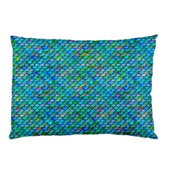 Mermaid Scales Pillow Case (two Sides) by Ellador