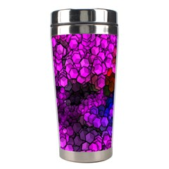 Artistic Cubes 2 Stainless Steel Travel Tumblers by MoreColorsinLife