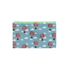 Hot Air Balloon Cosmetic Bag (xs) by Kathrinlegg